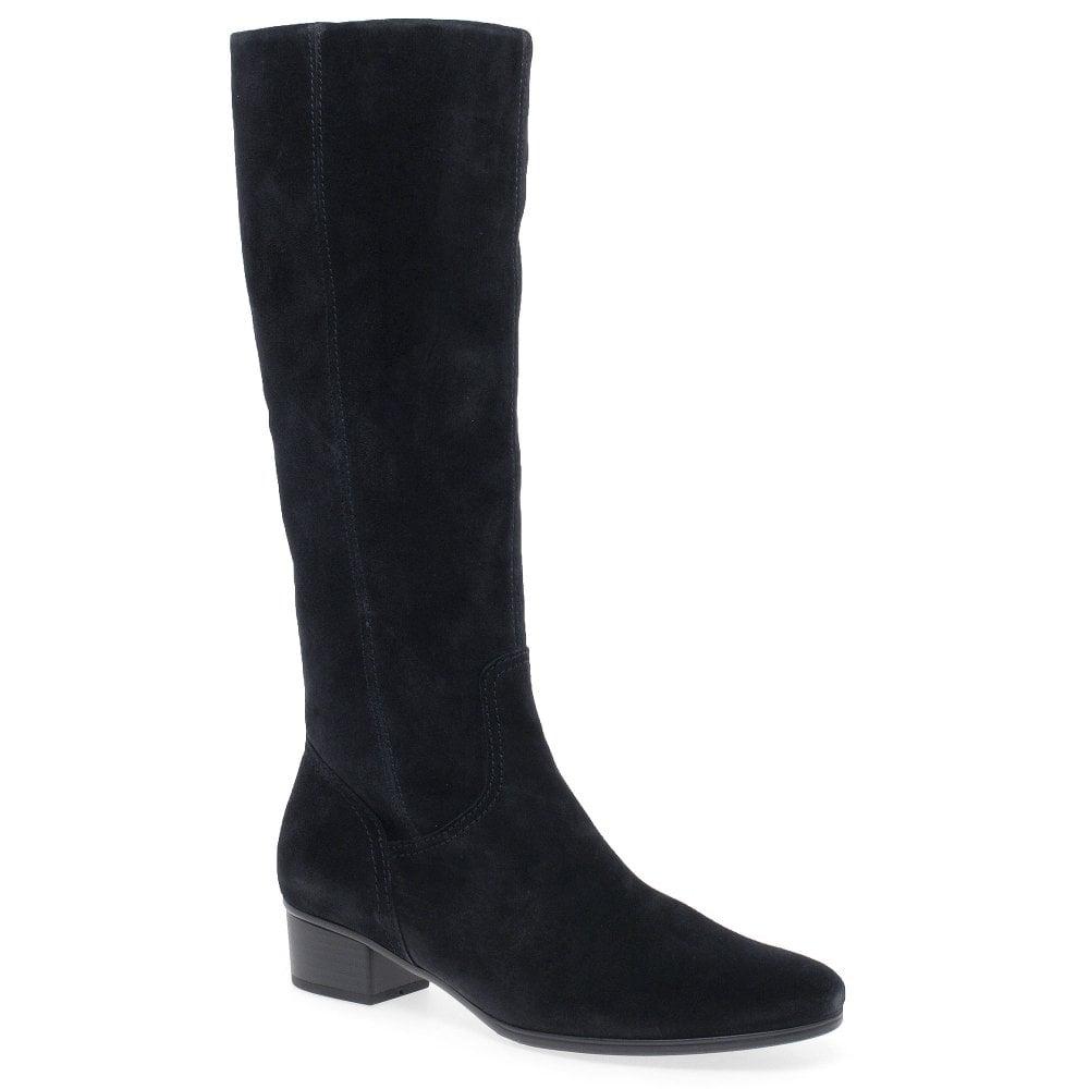 Gabor Toye S Womens Long Leg Zip Suede