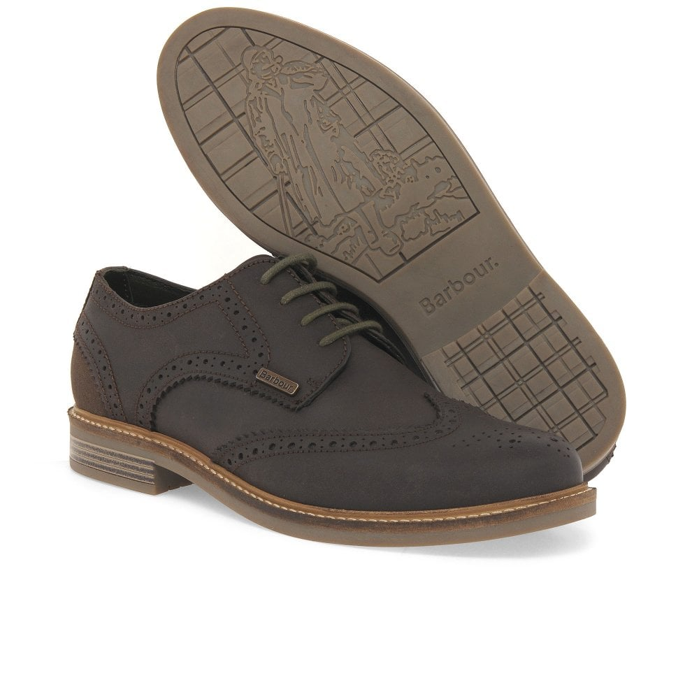 Barbour Bamburgh Mens Lace Leather Wing