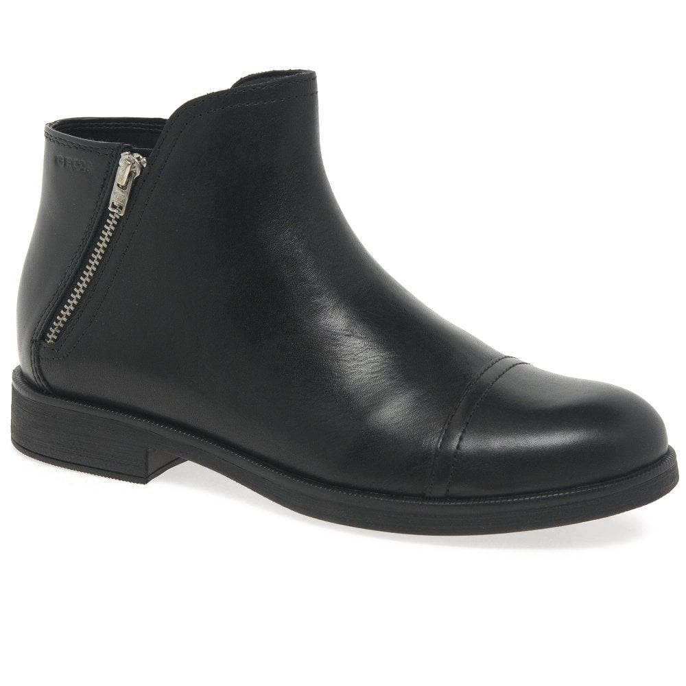 Geox Girls Junior Agata Zip Boots