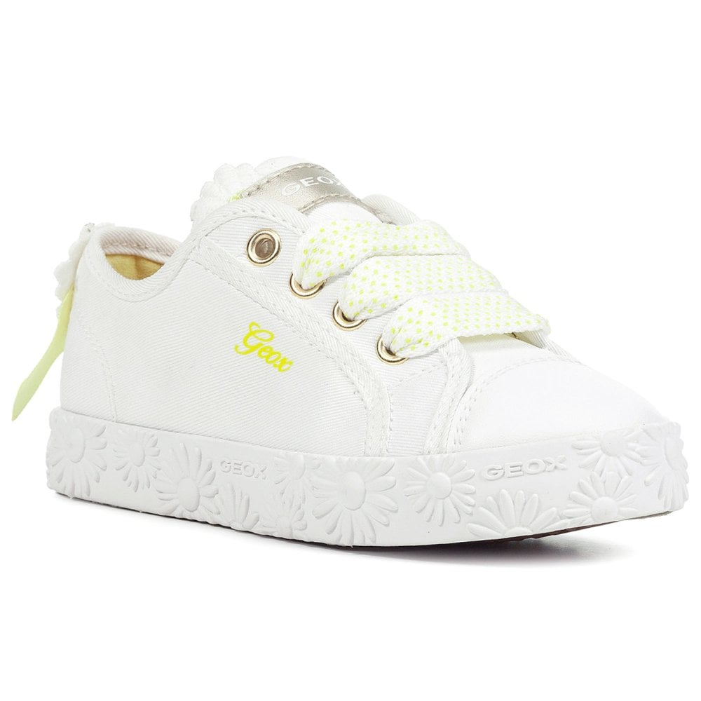 Geox Junior Ciak Lo Girls Canvas Shoes