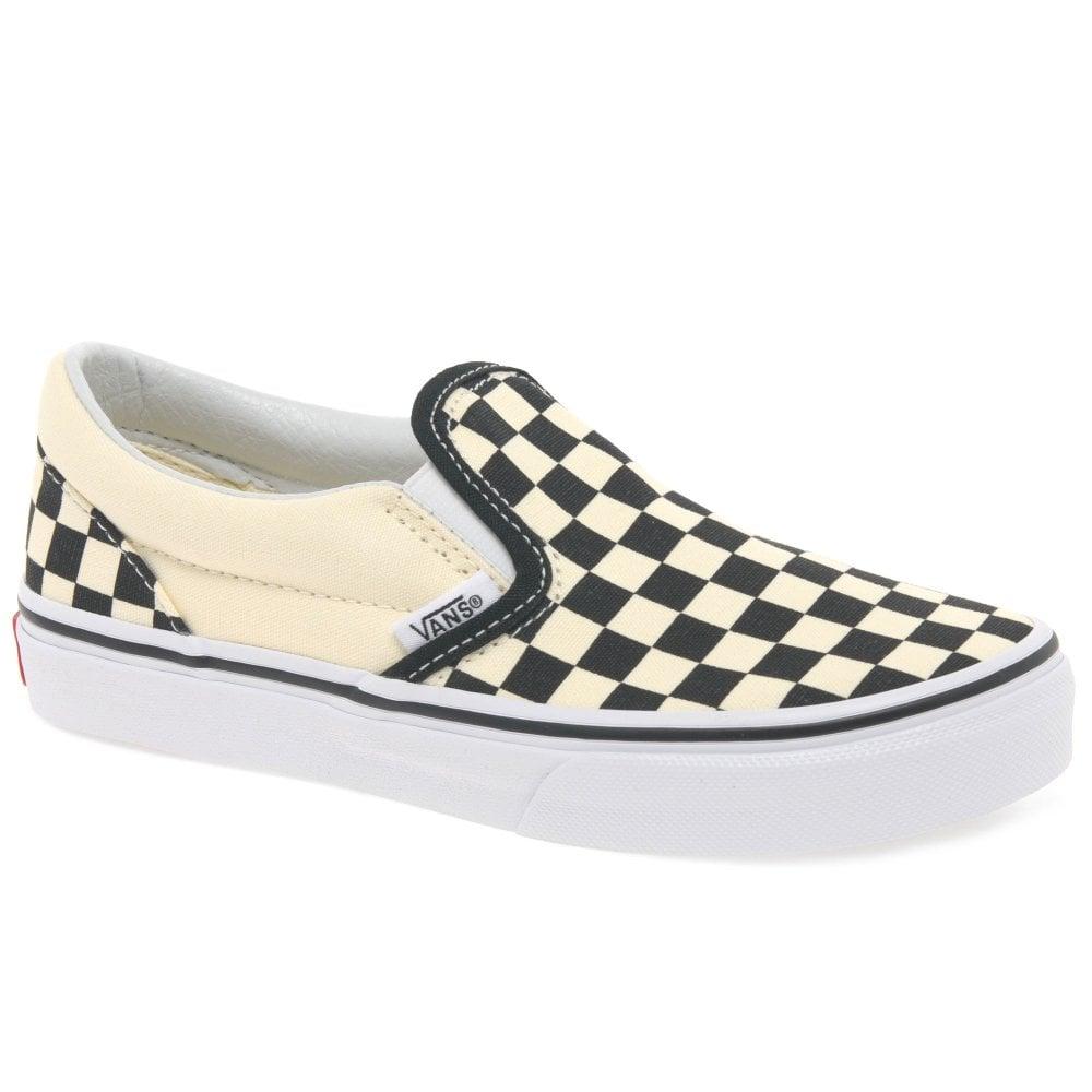 vans classic slip on youth