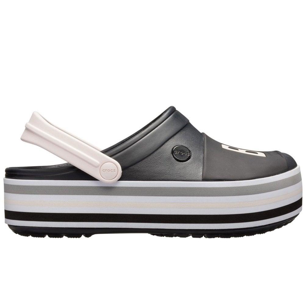 Crocs Crocband Platform Clog Womens