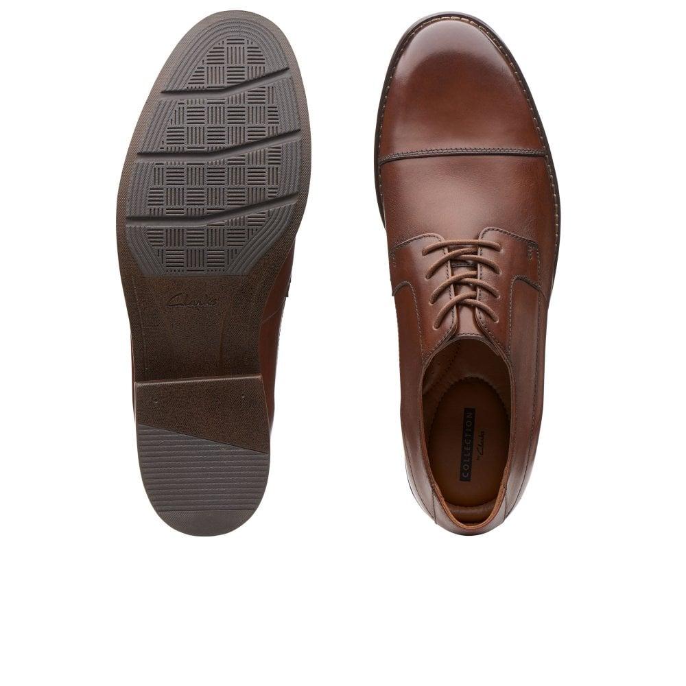 Clarks Becken Cap Mens Lace Shoes