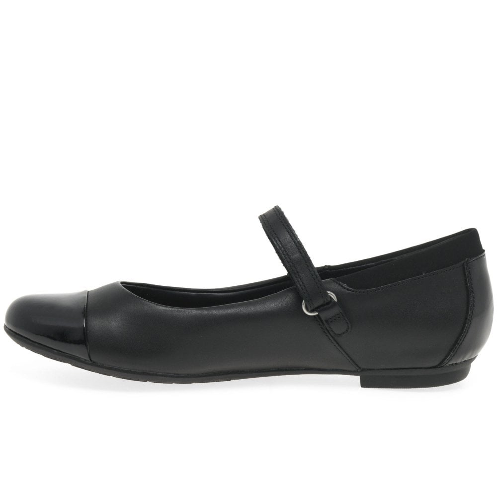 Tizz Talk Clarks Girls Mary Jane Style School Shoes