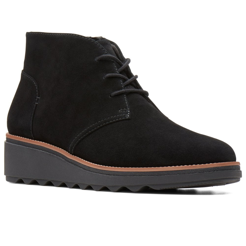 Clarks Sharon Hop Womens Ankle Boots