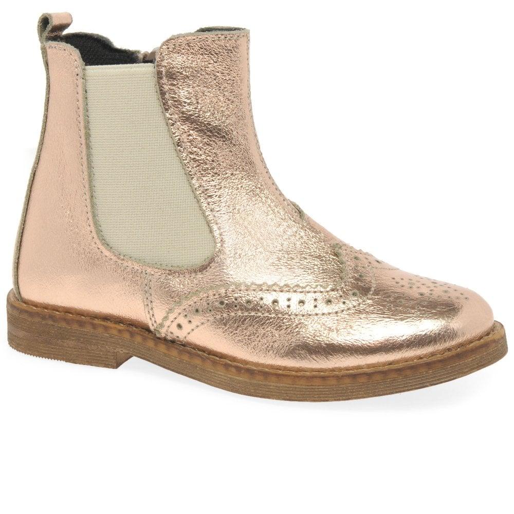 infant tan chelsea boots