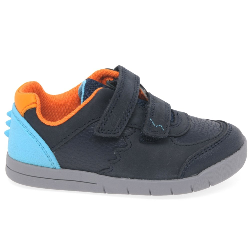 Asesor gatear Zumbido  Clarks Rex Quest T Boys Infant Shoes | Charles Clinkard