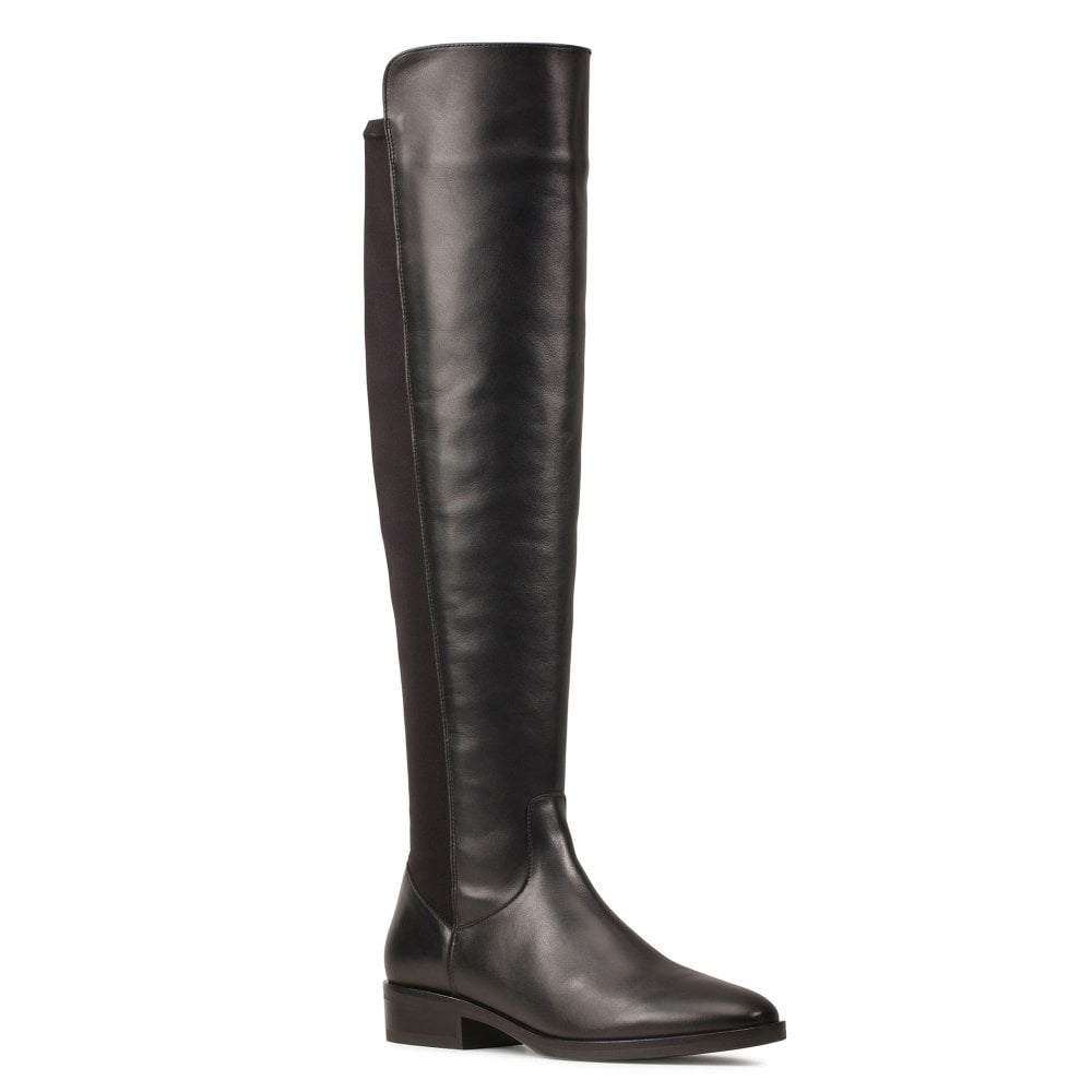 Monopolio fragancia Anormal  Clarks Pure Caddy Womens Knee High Boots - Women from Charles Clinkard UK