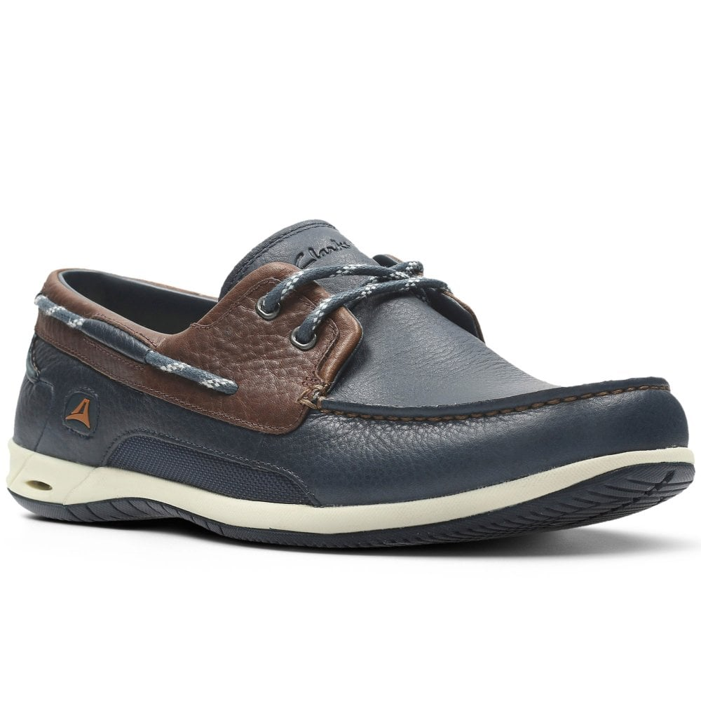 Clarks Orson Harbour Mens Casual Boat