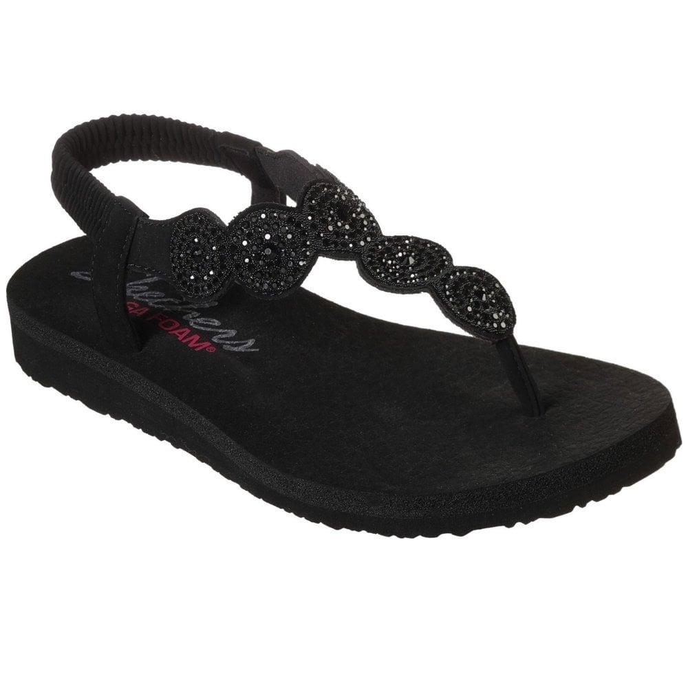 Sparkle Womens Toe Post Sandals - Women
