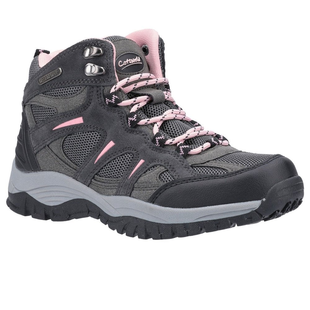 Cotswold Stowell grey ladies lightweight waterproof outdoor hiking walking boot