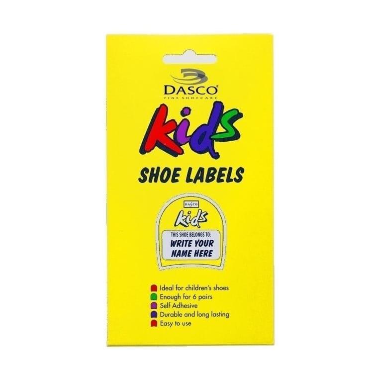 Dasco Kids Shoe Labels - 6 Pack (8701)