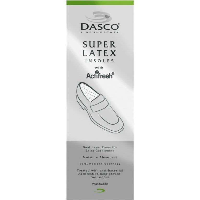 Dasco Mens Latex Insole