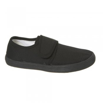 Gardiners Velcro Heart Childrens' Gym Plimsoles