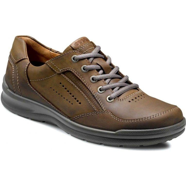 Ecco Outback Mens Lace Up Casual Shoes