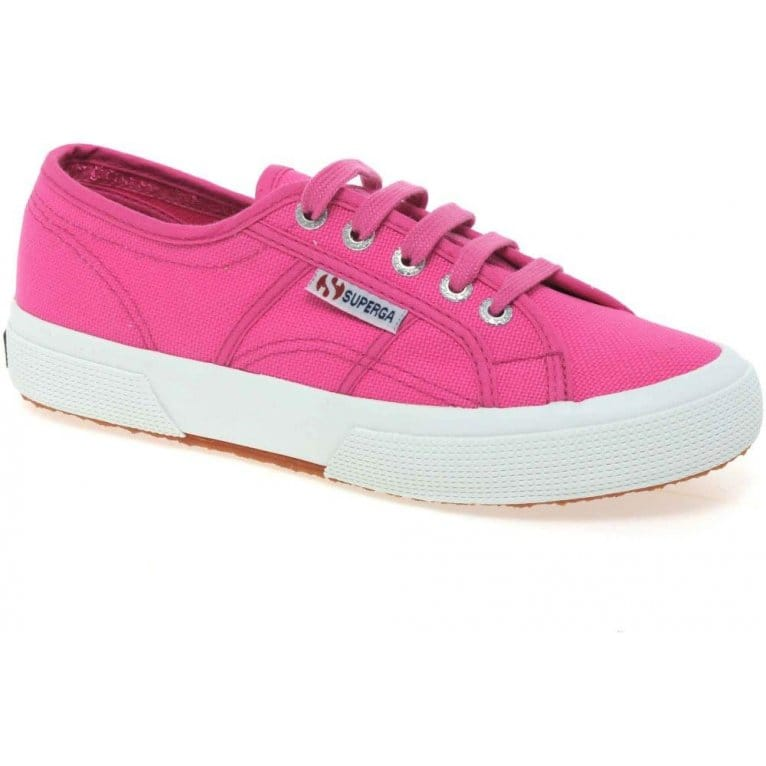 Superga Cotu Classic Womens Lace Up Canvas Shoes