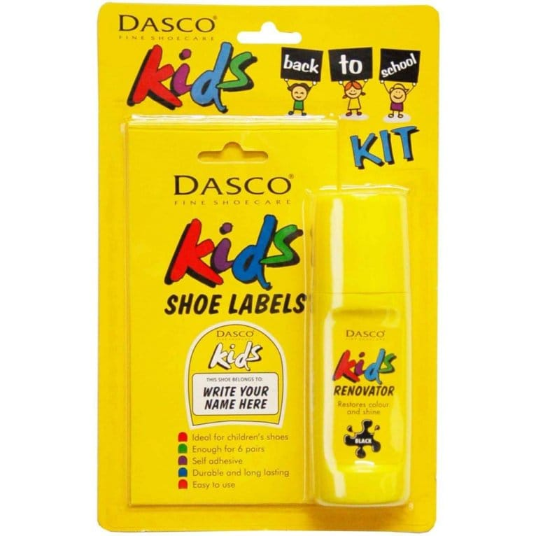 Dasco Kids Back to School Shoe Kit