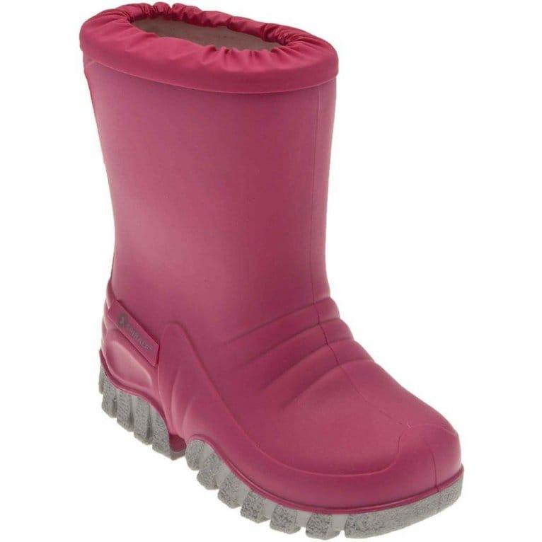 Start-Rite Baby Mudbuster Girls Pink Wellington Boots