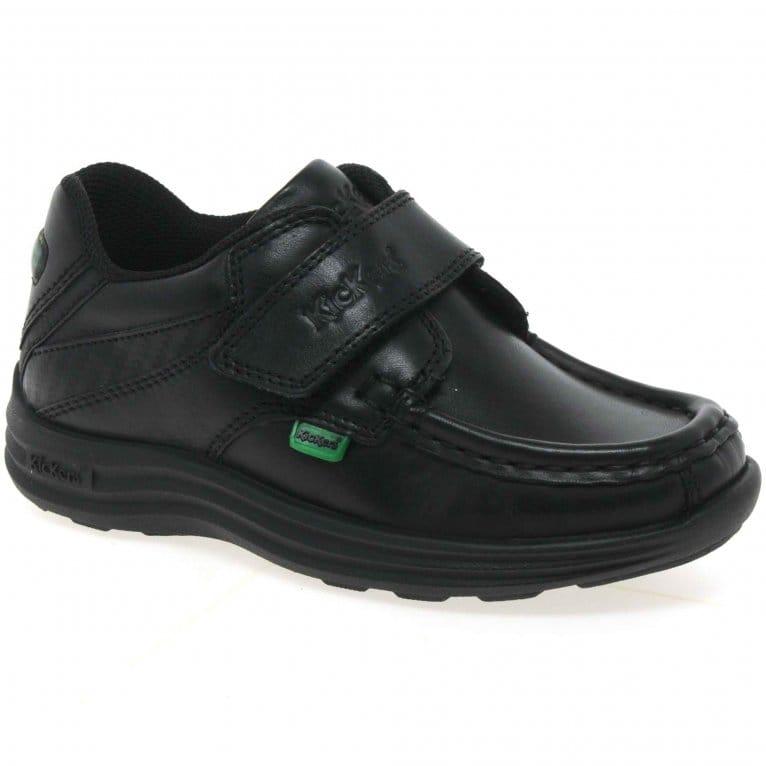 Kickers Reasan Strap Infant Boys School Shoes