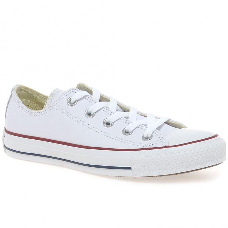 Converse Oxford White Leather Sneakers
