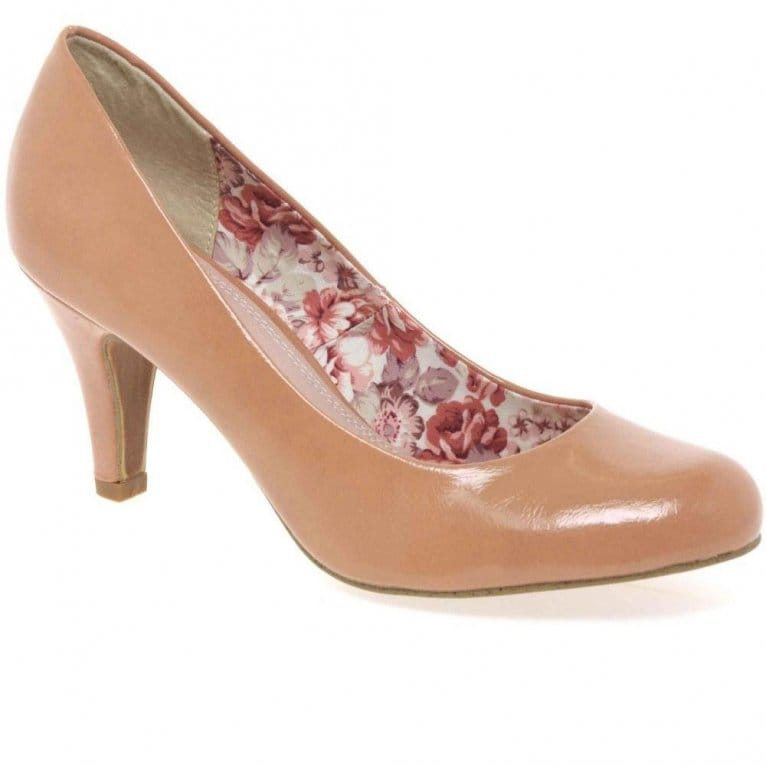 Marco Tozzi Charlie Womens Patent Court Shoes