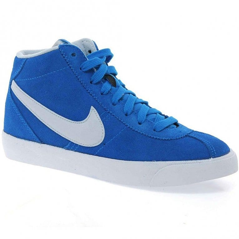 Nike Bruin Mid Boys Lace Up Hi Top Trainers