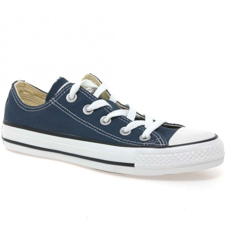 Converse Allstar Oxford Navy Canvas Shoe