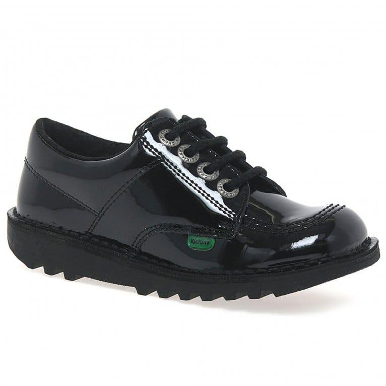Kickers Lo Girls Junior School Shoes