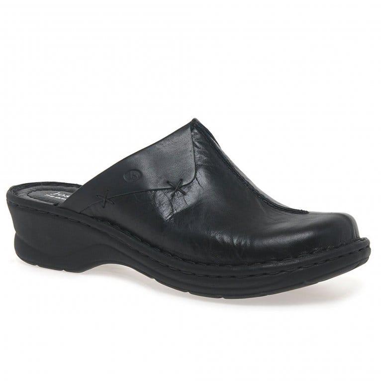 Josef Seibel Catalonia Cerys Womens Leather Clogs