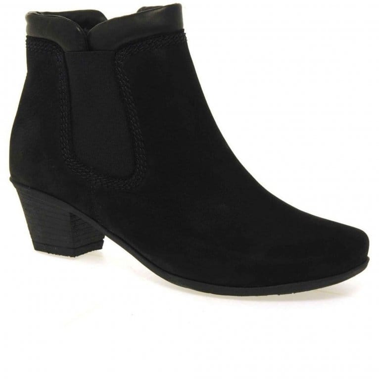Gabor Sound Womens Zip Up Ankle Boots