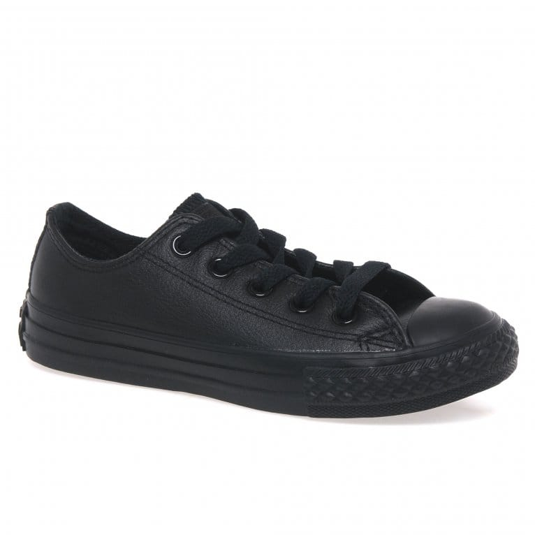 Converse All Star Boys Leather Oxford Shoes