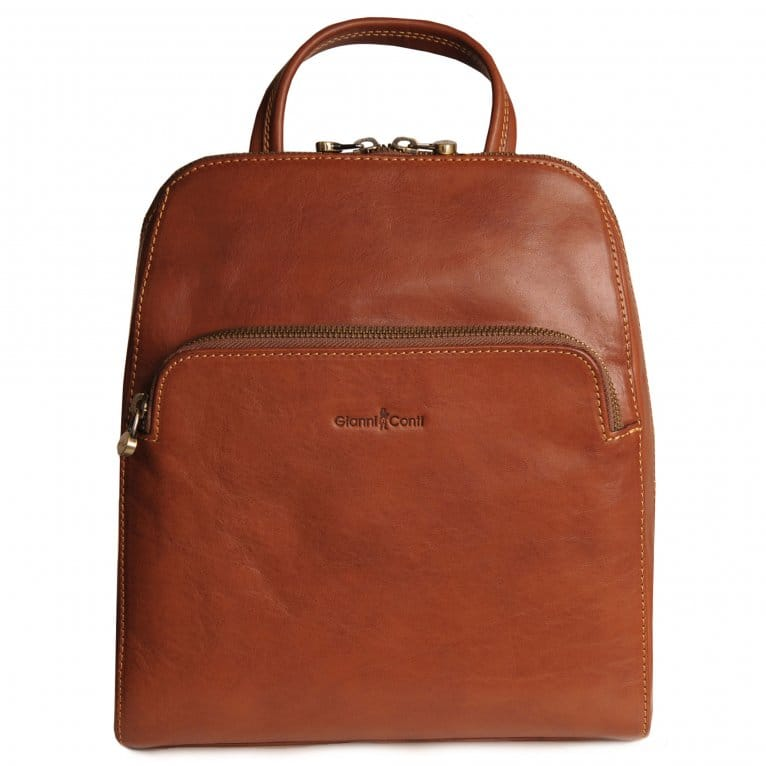 Gianni Conti Bergamo Womens Leather Backpack