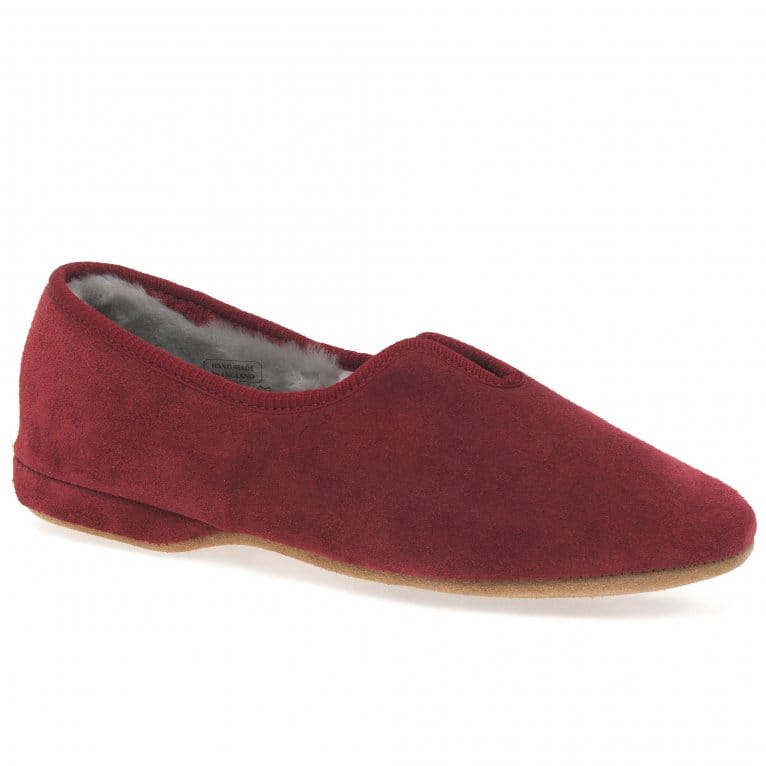Drapers Belinda Suede Warmlined Slippers