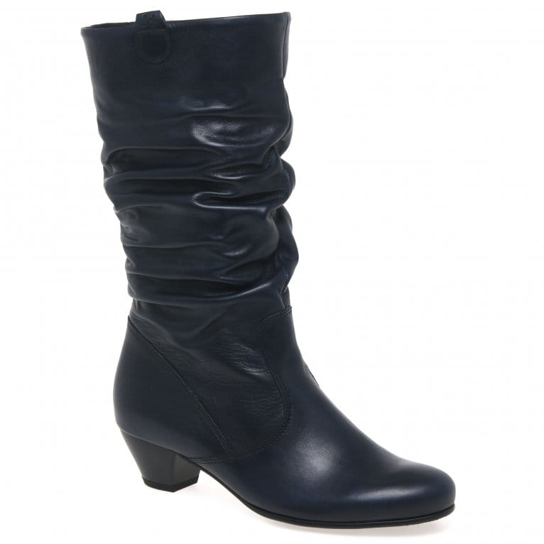 Gabor Rachel Leather Wide Fitting Boots