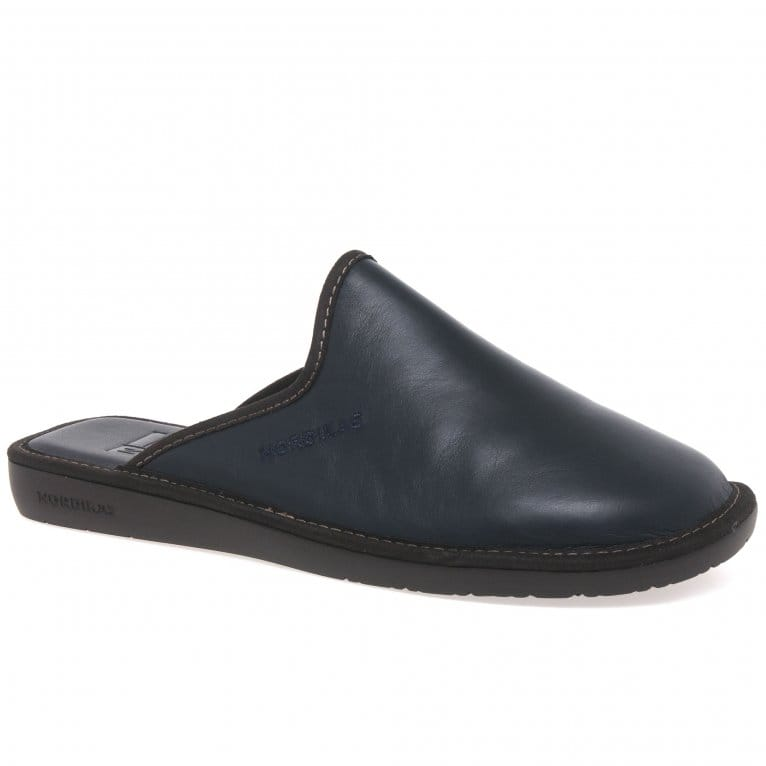 Nordikas Norwood III Mens Leather Slippers