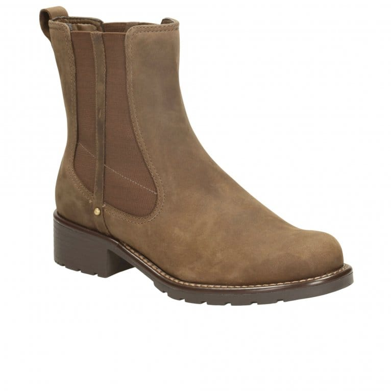 Clarks Orinoco Club Wide Womens Casual Boots