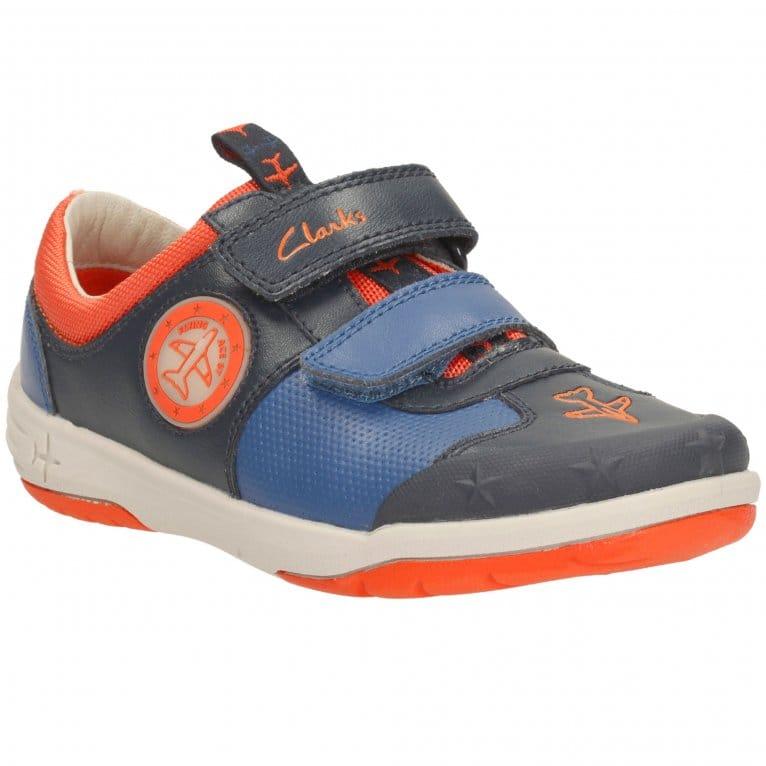 Boys Clarks Casual Shoes /'Jetsky Buzz/'