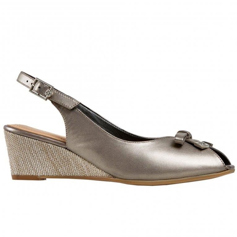 Van Dal Meade Womens Peep Toe Slingback Shoes