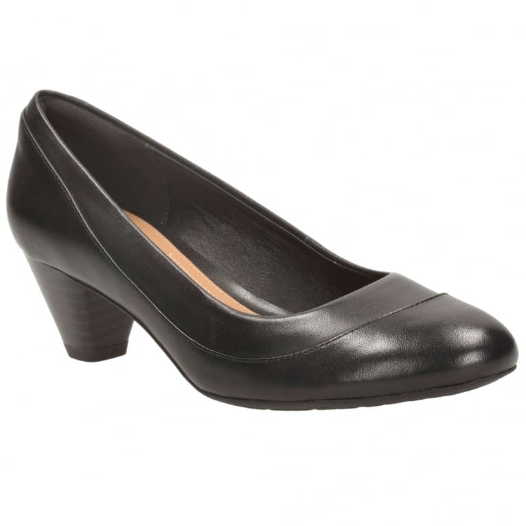 Clarks Denny Harbour Womens Court Shoes