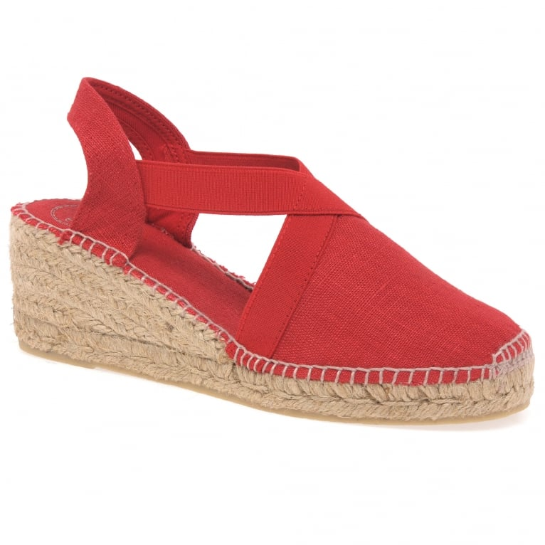 Toni Pons Ter Womens Wedge Heeled Espadrilles