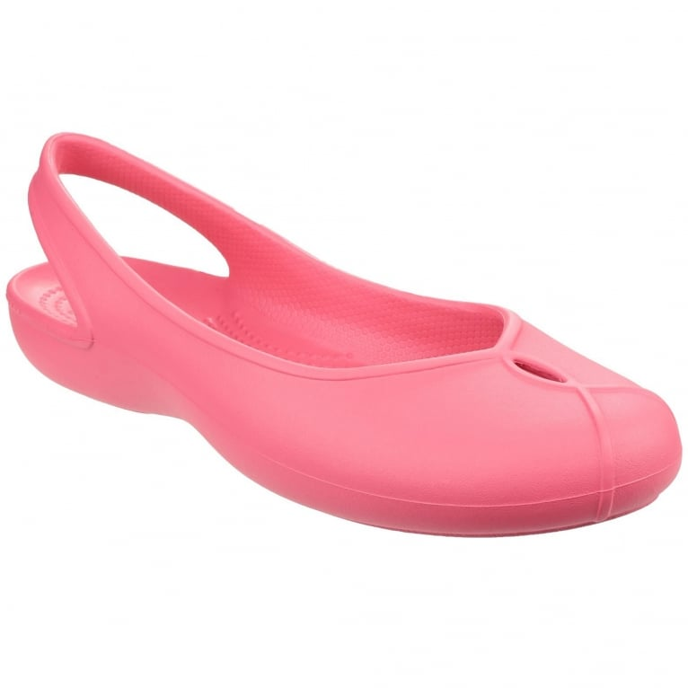 Crocs Olivia II Flat Womens Slip On Shoes