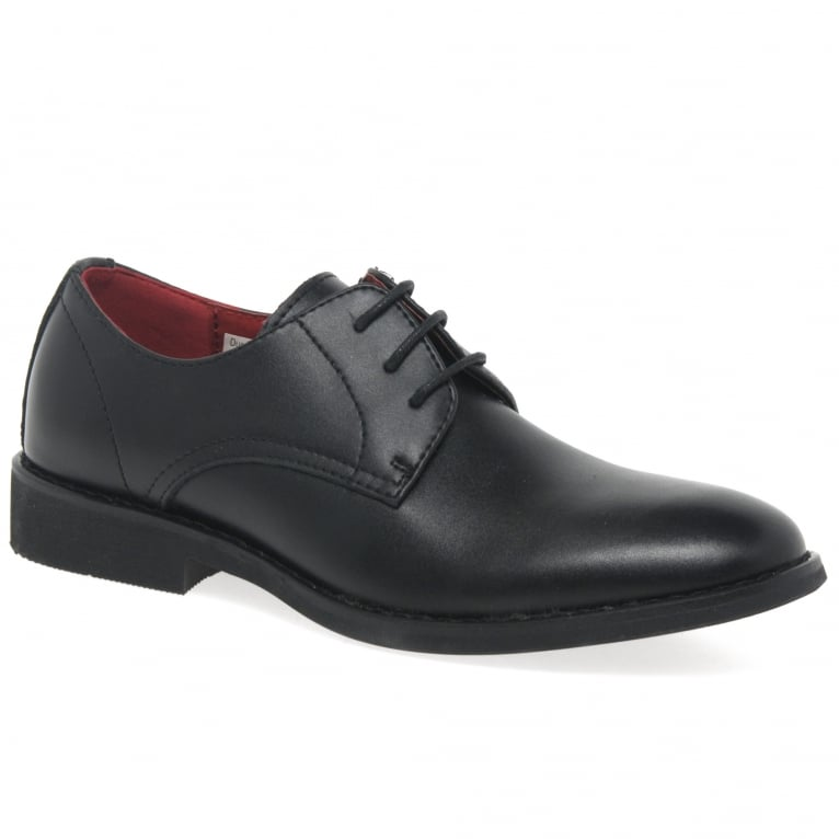 Front Rizzo Boys Formal Lace Up Shoes
