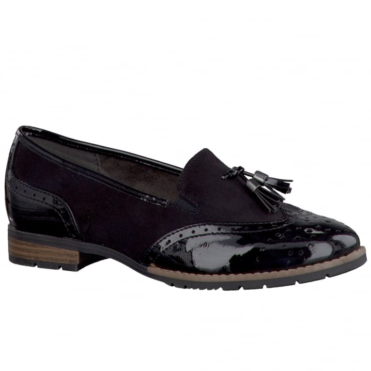 Soft Line (Jana) Wagner Womens Tassel Brogue Loafers