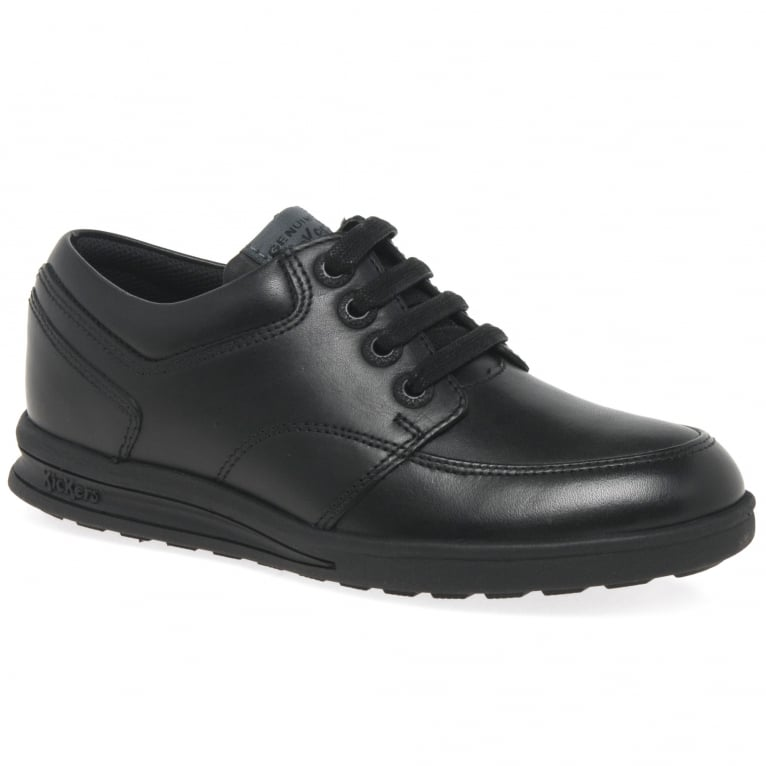 Kickers Troiko Lace Boys Senior School Shoes