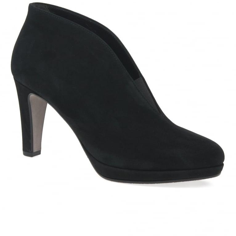 Gabor Amien Womens Modern Slip On Ankle Boots