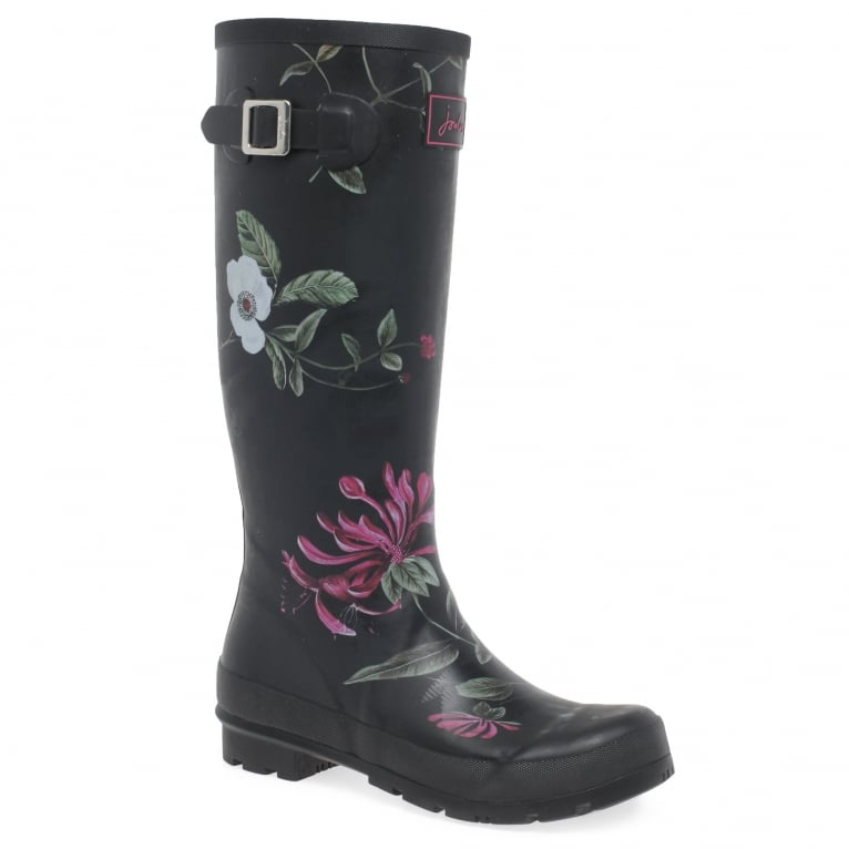 Joules Womens Print Wellingtons