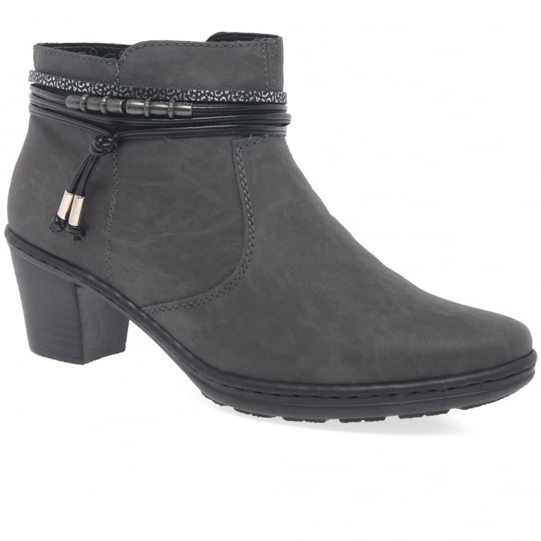 Rieker Toggle Womens Casual Ankle Boots