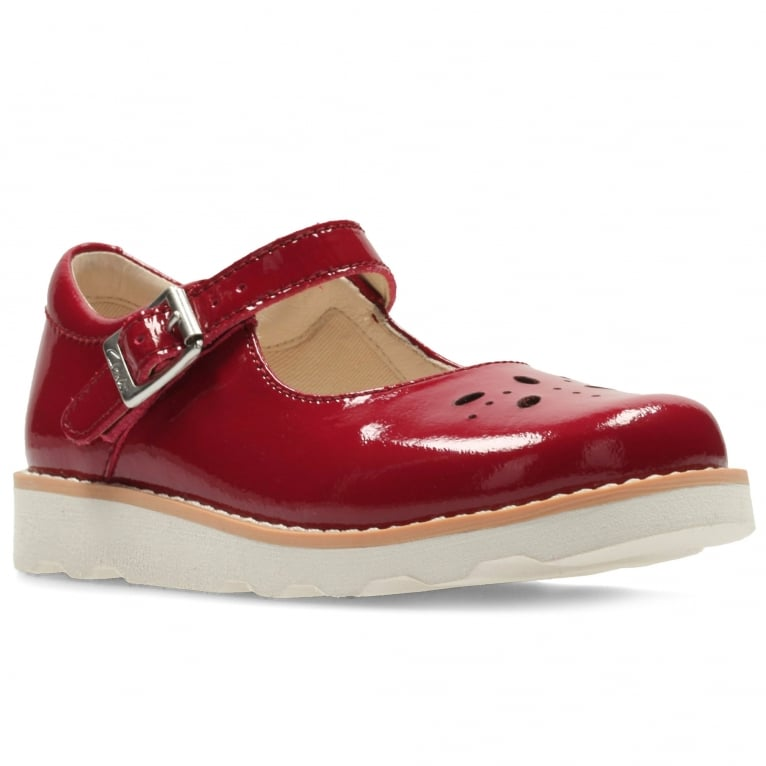 Clarks Crown Posy Infant Girls Patent