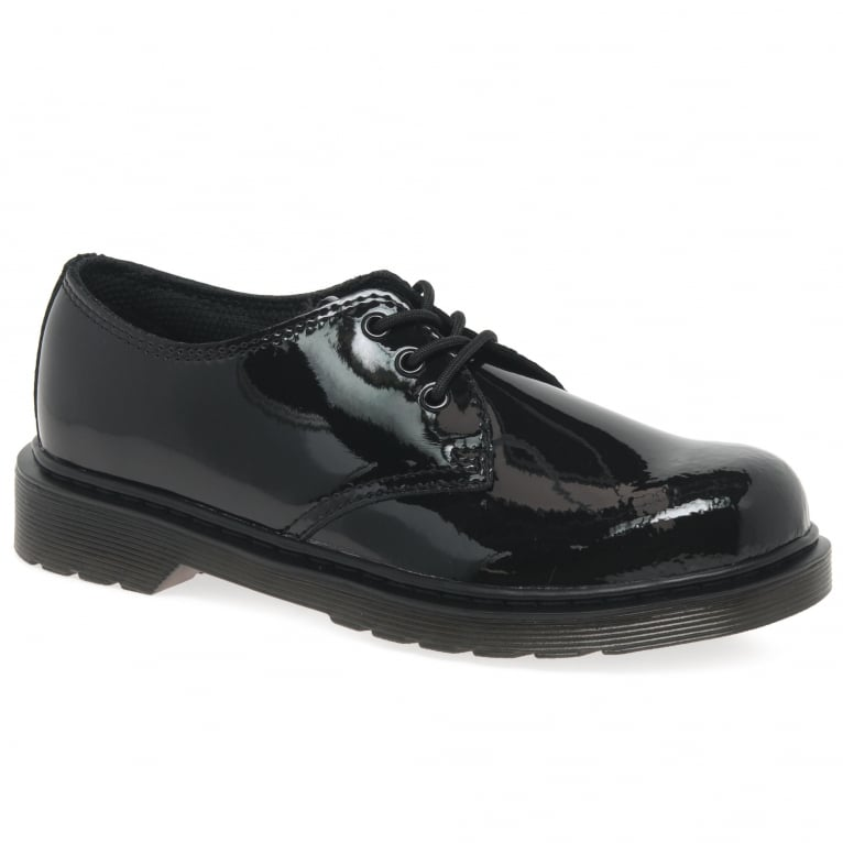 Dr. Martens Everley 3 Eye Girls Junior School Shoes