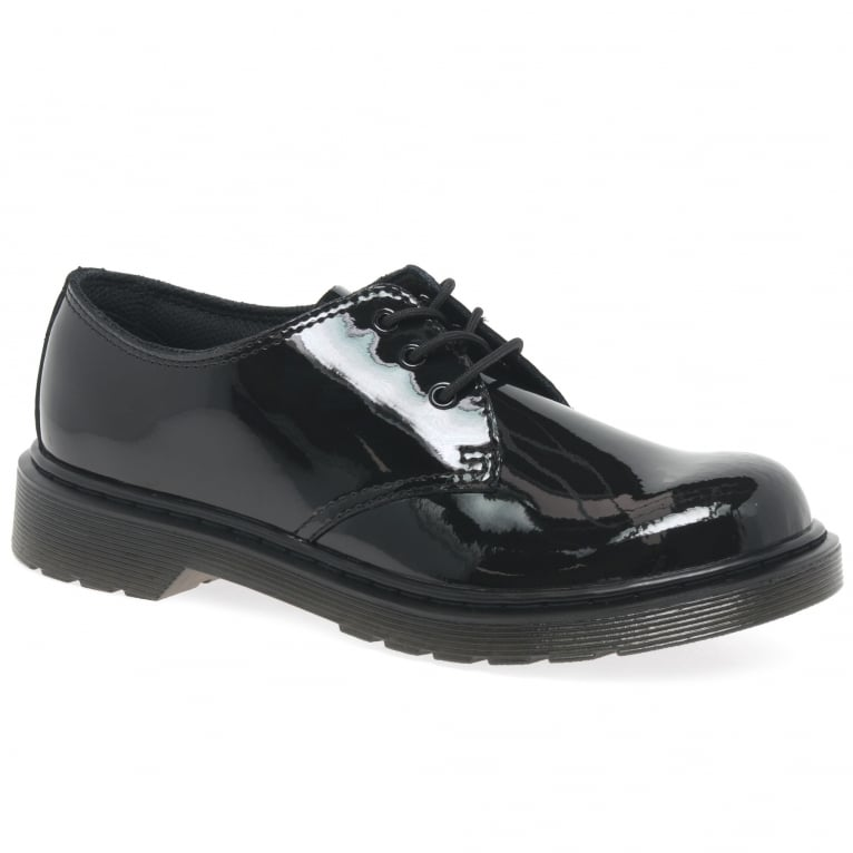 Dr. Martens Everley 3 Eye Girls Senior School Shoes